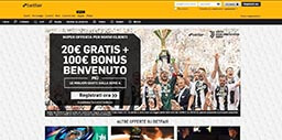 Betfair Italia homepage