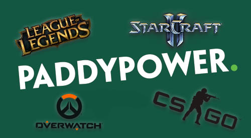 partite eSports in diretta su Paddy Power