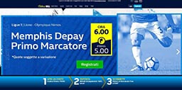 williamhill Italia homepage