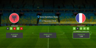 Consigli per Albania - Francia: domenica 17 novembre 2019 - Qualificazioni Euro 2020