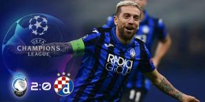 Atalanta vince per la prima volta partita della Champions League