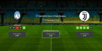 Consigli per Atalanta - Juventus: sabato 23 novembre 2019 - Serie A