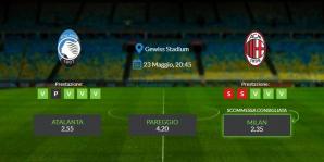 Consigli per Atalanta vs Milan: domenica 23 maggio 2021 - Serie A