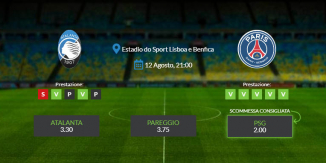 Consigli per Atalanta vs PSG: mercoledì 12 agosto 2020 - Champions League