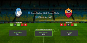 Consigli per Atalanta vs Roma: sabato 15 febbraio 2020 - Serie A