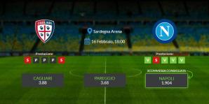 Consigli per Cagliari vs Napoli: domenica 16 febbraio 2020 - Serie A