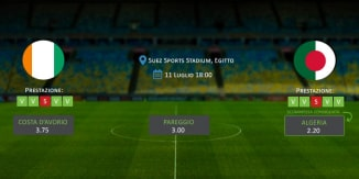 Costa d'Avorio - Algeria - Coppa d'Africa 2019