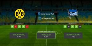 Consigli per Borussia Dortmund vs Herta : sabato 6 giugno 2020 - Bundesliga