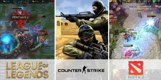 Videogames più popolari negli eSports
