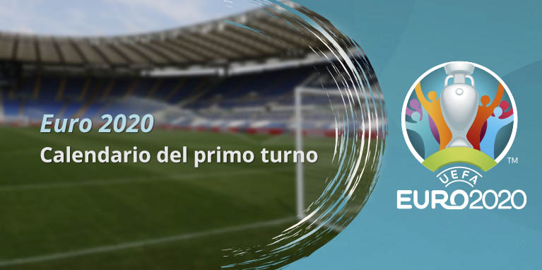 Euro 2020: calendario prime partite 09.06.2021