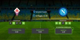 Consigli per Fiorentina vs Napoli: giovedi 16 maggio 2021 - Serie A