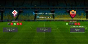 Consigli per Fiorentina - Roma: 20 decembre 2019 - Serie A
