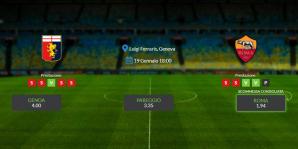 Consigli per Genoa-Roma: domenica 19 gennaio 2020 - Serie A