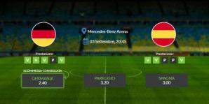 Consigli per Germania vs Spagna: giovedì 03 settembre 2020 - Nations League
