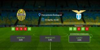 Consigli per Hellas Verona - Lazio: domenica 21 aprile 2021 - Serie A
