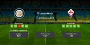 Consigli per Inter vs Fiorentina - sabato 26 settembre 2020 - Serie A