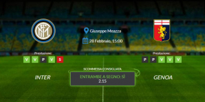 Consigli per Inter vs Genoa: domenica 28 febbraio 2021 - Serie A