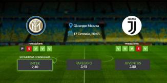 Consigli per Inter vs Juventus: domenica 17 gennaio 2021 - Serie A