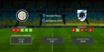 Consigli per Inter vs Sampdoria: domenica 23 febbraio 2020 - Serie A