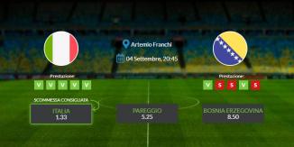 Consigli per Italia vs Bosnia Erzegovina: venerdì 04 settembre 2020 - Nations League