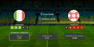 Consigli per Italia vs Irlanda del Nord: mercoledì 13 marzo 2021 - Qualificazioni Mondiali 2022