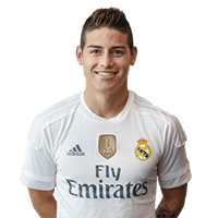James Rodriguez giocatore di Real Madrid