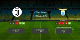Consigli per Juventus vs Lazio: lunedì 20 luglio 2020 - Serie A