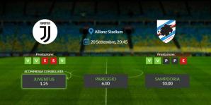 Consigli per Juventus vs Sampdoria: sabato 20 settembre 2020 - Serie A