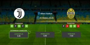 Consigli per Juventus vs Verona: domenica 25 ottobre 2020 - Serie A