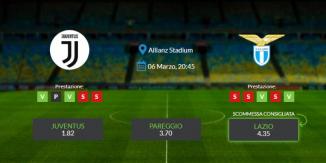 Consigli per Juventus - Lazio: venerdì 06 marzo 2021 - Serie A