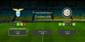 Consigli per Lazio vs Inter: sabato 16 ottobre 2021 - Serie A