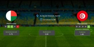 Madagascar-Tunisia - Coppa d'Africa 2019