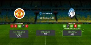 Consigli per United vs Aatalanta - mercoledì 20 ottobre 2021