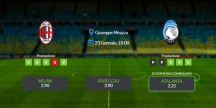 Consigli per Milan vs Atalanta: sabato 23 gennaio 2021 - Serie A