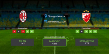 Consigli per Milan vs Stella Rossa: giovedi 25 febbraio 2021 - Europa League