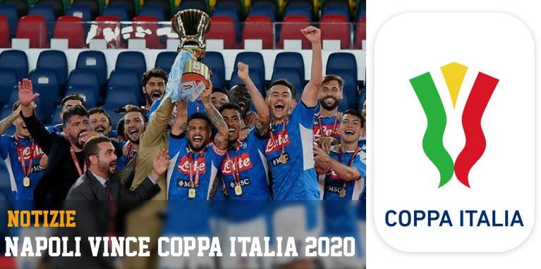 Napoli: vincitrice della Coppa Italia 2020