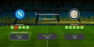 Consigli per Napoli vs Inter: domenica 18 aprile 2021 - Serie A