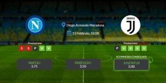 Consigli per Napoli vs Juventus: sabato 13 febbraio 2021 - Serie A