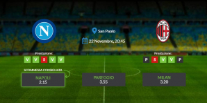 Consigli per Napoli vs Milan: domenica 22 novembre 2020 - Serie A