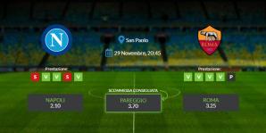 Consigli per Napoli vs Roma - domenica 29 novembre 2020 - Serie A