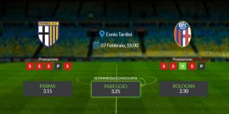 Consigli per Parma vs Bologna: domenica 07 febbraio 2021 - Serie A