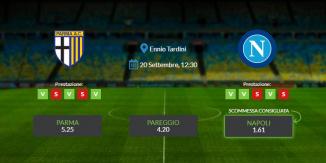 Consigli per Parma vs Napoli: sabato 20 settembre 2020 - Serie A