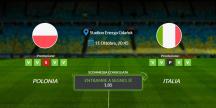 Consigli per Polonia vs Italia - domenica 11 ottobre 2020 - Nations League
