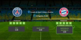 Consigli per PSG - Bayern di Monaco: 23 agosto 2020 - Champions League