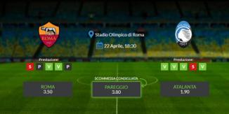Consigli per Roma vs Atalanta: giovedi 22 aprile 2021 - Serie A
