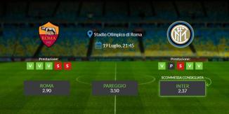 Consigli per Roma vs Inter: domenica 19 luglio 2020 - Serie A