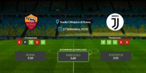 Consigli per Roma vs Juventus - domenica 27 settembre 2020 - Serie A