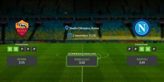 Consigli per Roma - Napoli: sabato 02 novembre 2019 - Serie A