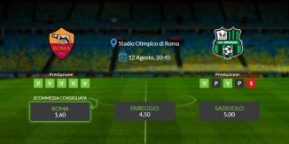 Consigli per Roma vs Sassuolo: domenica 12 settembre 2021