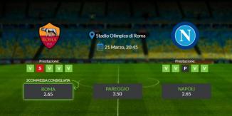 Consigli per Roma - Napoli: domenica 21 marzo 2021 - Serie A